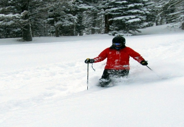 the powder this week has been epic. no lines and great snow!