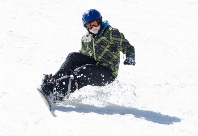 My sons first time snow boarding. Snow all day Saturday 2/16.  Great weekend!