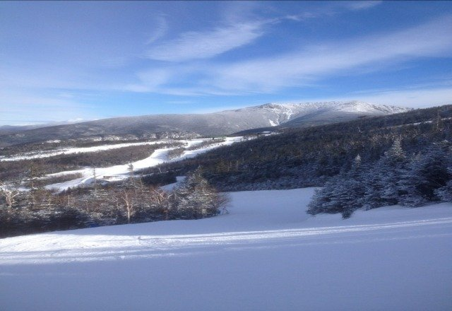 Perfect day at Cannon today!!! Great runs, happy staff... Its a skier's wonderland.