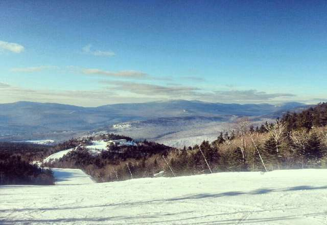 Solid conditions and great groomers today on Loon. Glad to see the sunshine.