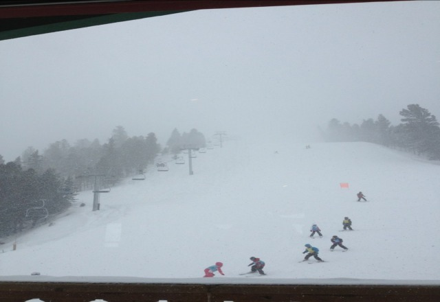 snow was awesome!  Great skiing!!