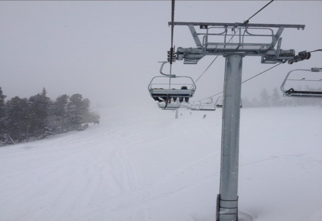 lots of fresh snow
