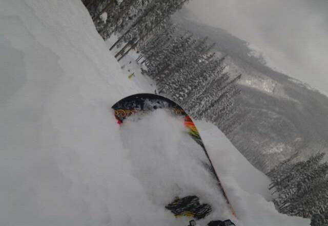 Talk about Pow pow!!!This storm dumped waist high powder-warshaq