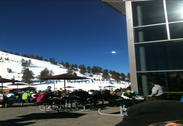 Stellar Day at Mt Rose.  And what makes it best of all is the staff---thanks Jackie---the Brauts were awesome and i found the mustard--they do it THE RIGHT WAY, oh and the live band at Whiskey Creek Lodge is great:)