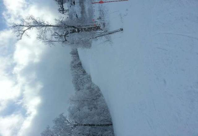 Great day on 1/1 some spots where wind blew off snow but otherwise not a single bad run.