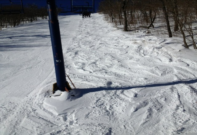 please dont tell anyone how great Plattekill is! soft bumps today...