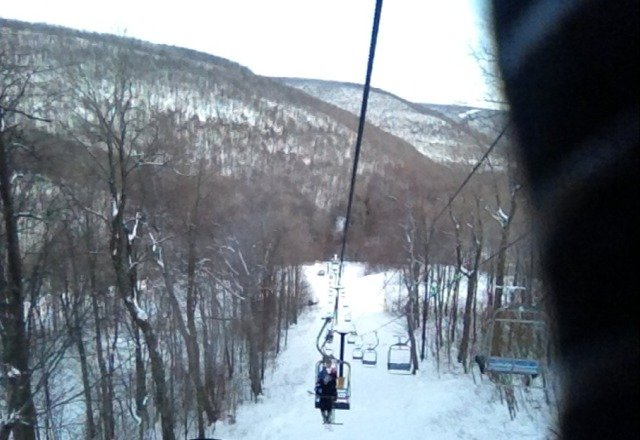 great day on the mountain, first time at BK????