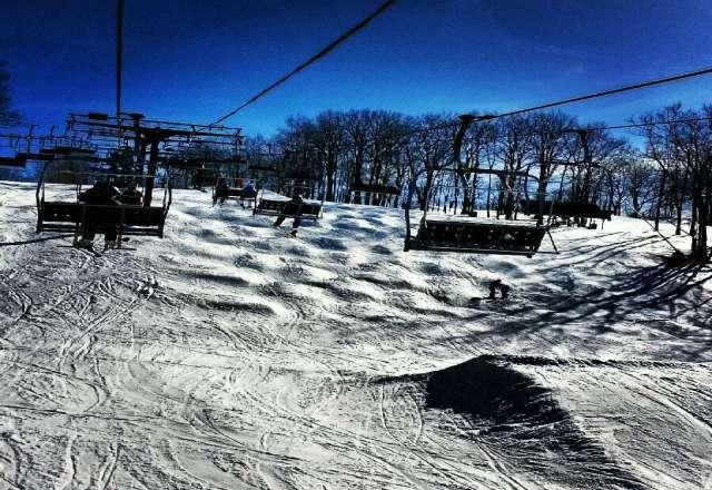 Retro Bump Bash was a Blast. Soft snow and warm, but plenty of coverage.