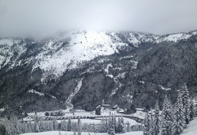 awesome day. nice pow. just a little foggy