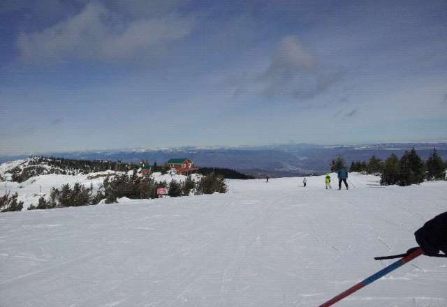 Perfectly groomed runs, weather beautiful