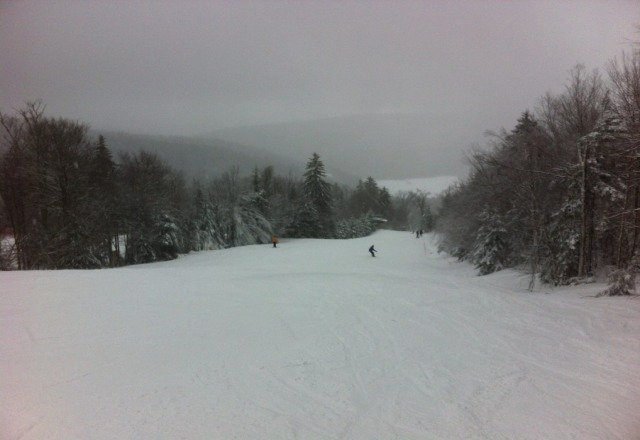 just left after 2 days of great snowboarding. No blacks are open in SilverCreek, but still worth it.
