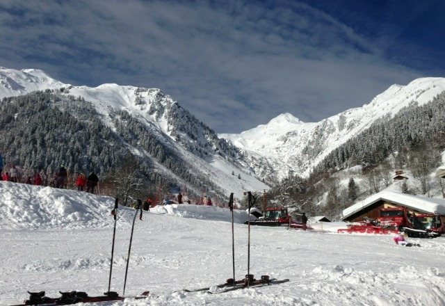 just came back, great snow