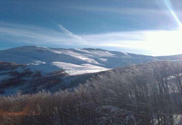 tutto aperto,neve bella