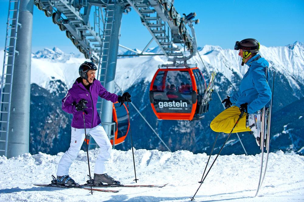 Bad Gastein Stubnerkogel - ©Gasteiner Bergbahnen AG