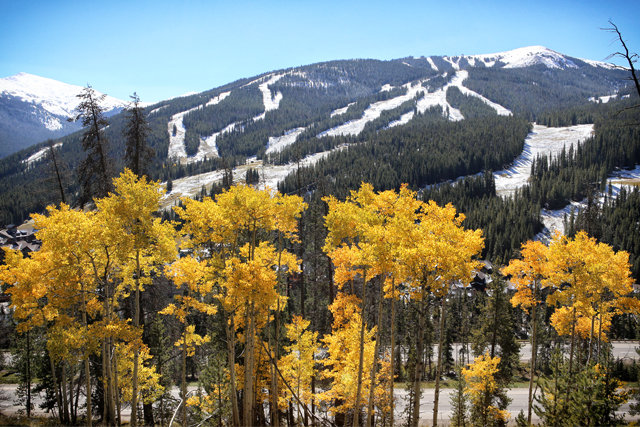 Copper Mountain sees snow - © Tripp Fay