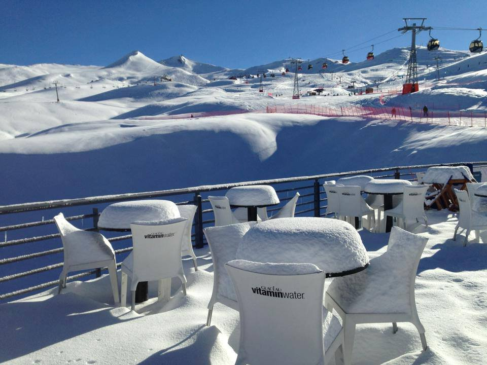 Fresh powder at Valle Nevado  - © Photo Courtesy Valle Nevado