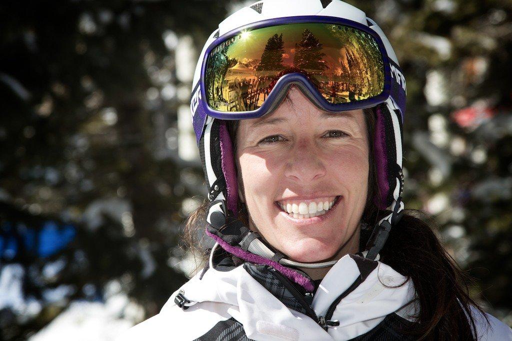 Jody Curtis: Tidligere racer, skitester og Utah ripper. - © Liam Doran