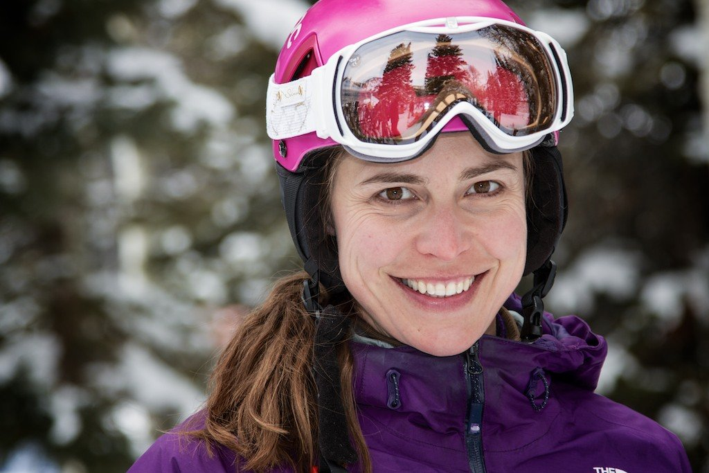 Krista Crabtree: Former ski racer, former SKI Magazine women's ski test director and current OnTheSnow ski test director  - ©Liam Doran