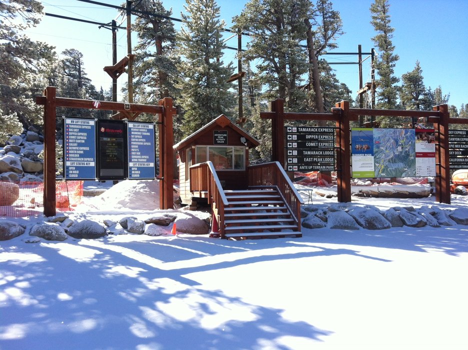 A light dusting of snow graced the top of Heavenly's Gondola. Who's excited about Opening Day on November 22?  - © Heavenly Mountain Resort