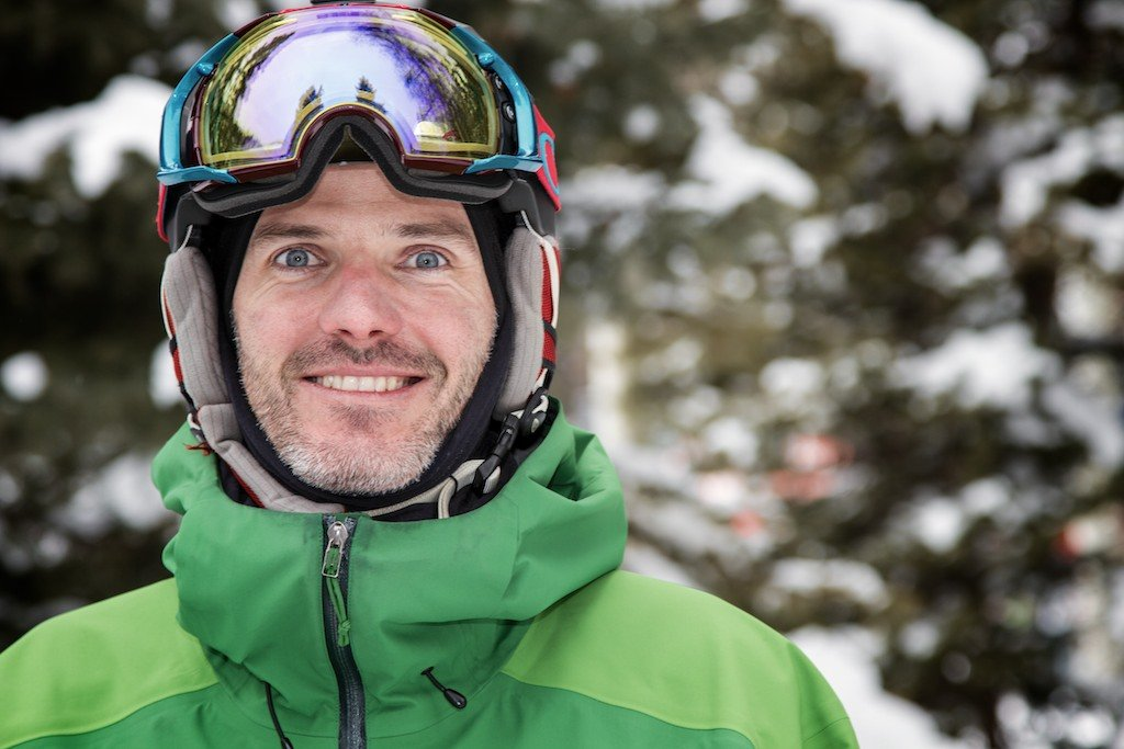 Patrick Crawford: Former OnTheSnow Global Content Director, co-founder for Freeskier Magazine - © Liam Doran