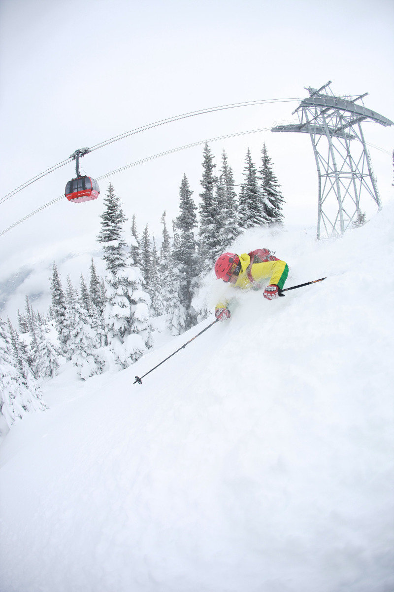 The Peak2Peak ski lift in Whistler - ©Bruce Rowles