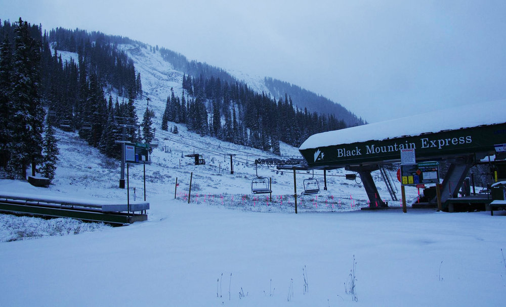 Preseason snow for Arapahoe Basin  - ©Arapahoe Basin Ski Area