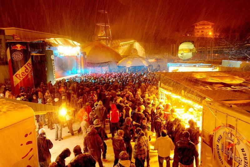 Seizoensopening in Saalbach: Rave on Snow