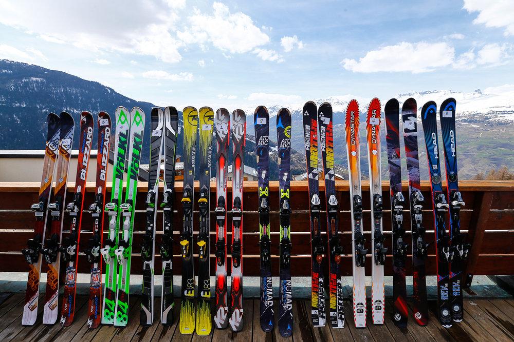 All-mountain lyže: výber testovaných lyží - © nskiv/wintersport.nl