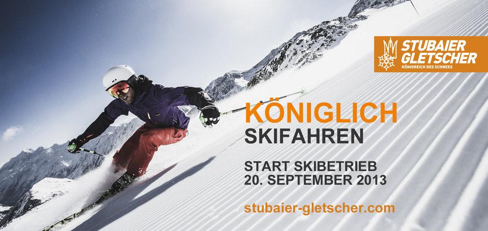 Stubai rusza 20. września - © Stubaier Gletscher