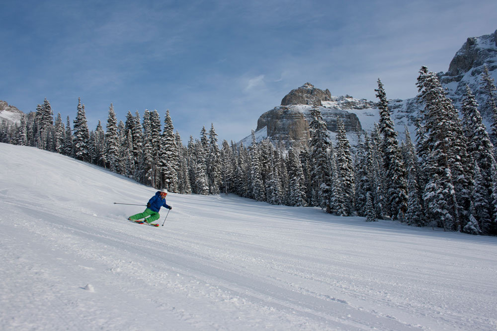 Sunshine Village on January 19, 2012. Photo by Adam Locke