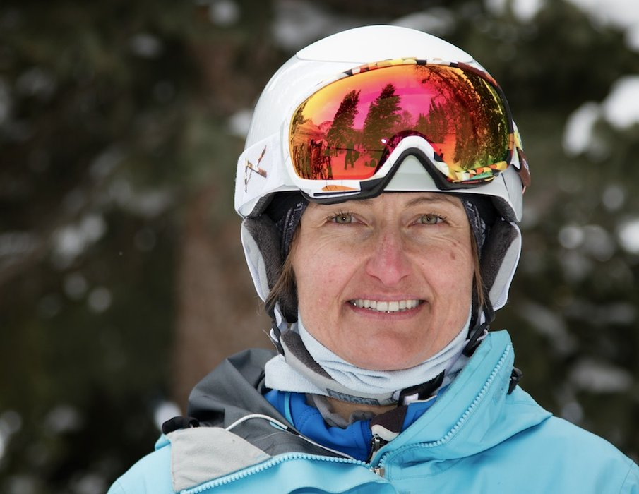 Susi Muecke: Grew up skiing in Germany and the Swiss Alps, PSIA Level II instructor at Snowbird - ©Liam Doran