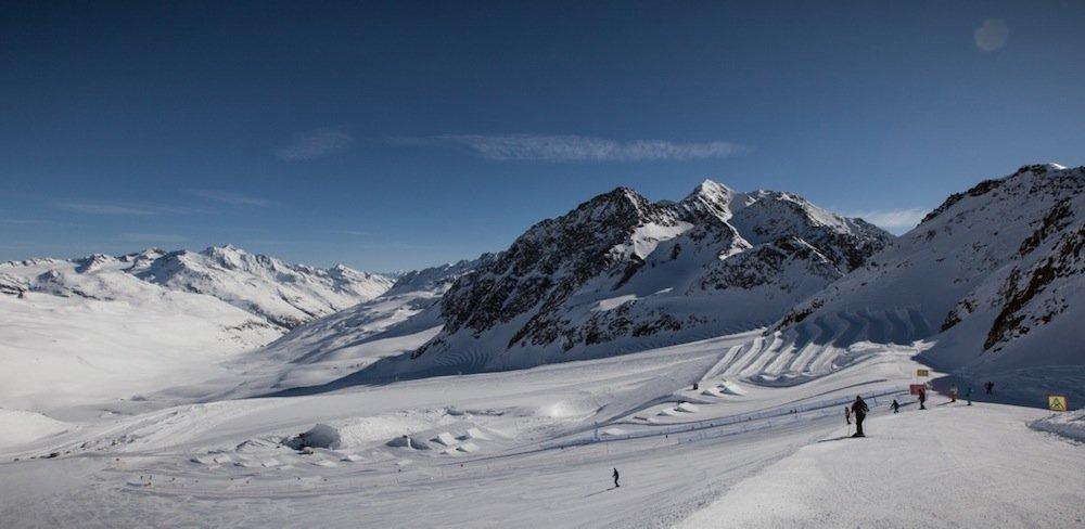 Snowpark Val Senales, Alto Adige