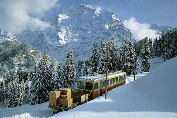 Wengen Railway, Switzerland - ©Wengen