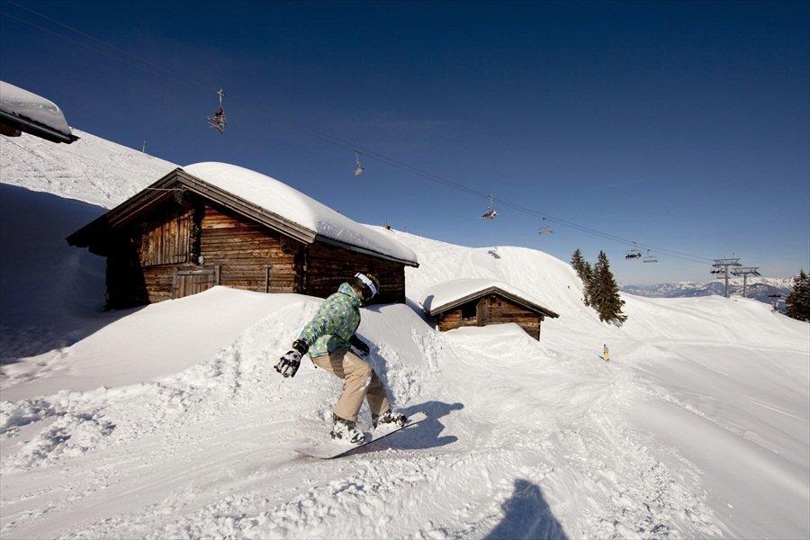 Snowboard-Fun in Wildschönau - © Wildschönau Tourismus