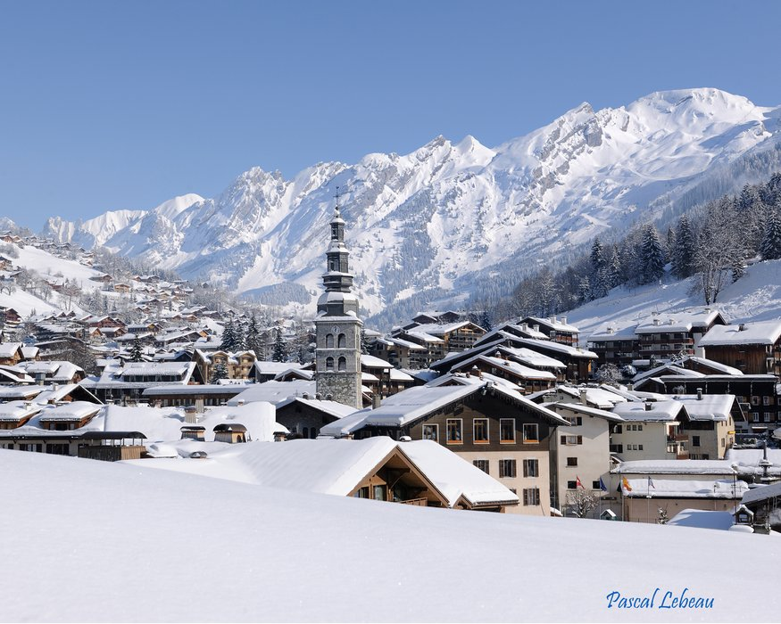 Le Clusaz, France, part of the Lake Annecy Ski Resorts ski region - ©Pascal Lebeau