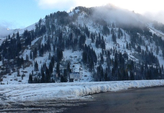 Alta is heaven on Earth. I love the snow.