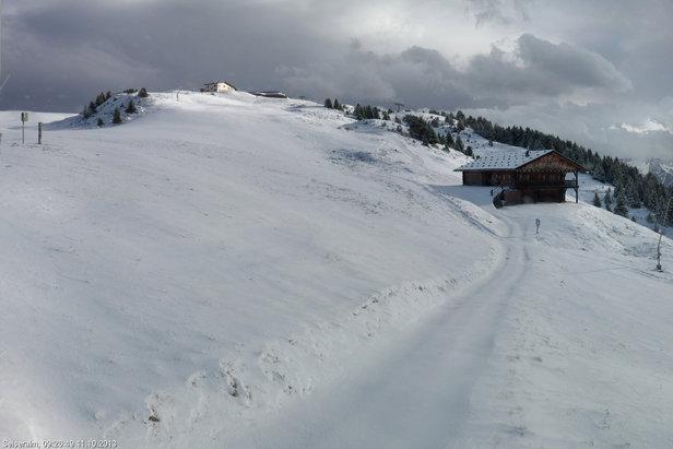 Neve fresca di Ottobre - Alpe di Siusi, Alto Adige