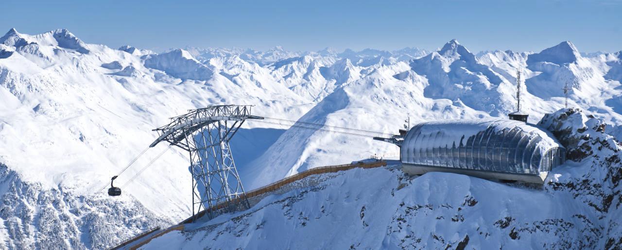 Gipfelstation der Gaislachkogel in Sölden - © Ötztal Werbung