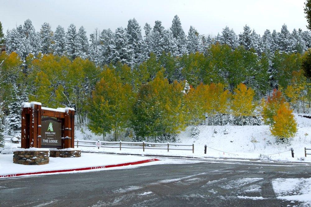 New Mexico snow - © Angel Fire Resort