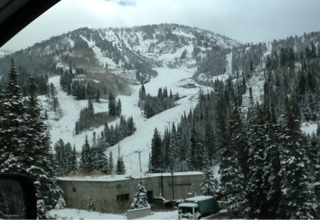 Snowbird fans, here's a view for you.