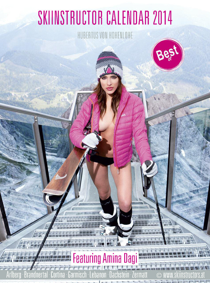 2014 Female Ski Instructor Calendar - ©Hubertus Hohenlohe/www.skiinstructors.at