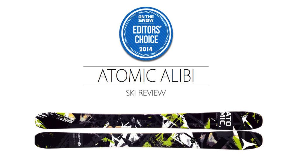 2014 Men's All-Mountain Ski Editors' Choice: Atomic Alibi
