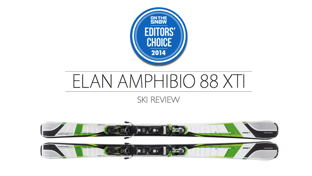 2014 Men's All-Mountain Editors' Choice Ski: Elan Amphibio 88 Xti