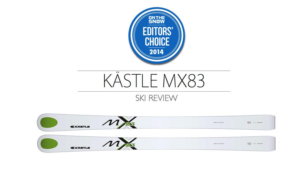 2014 Men Frontside Editor Choice Ski: Kästle MX83