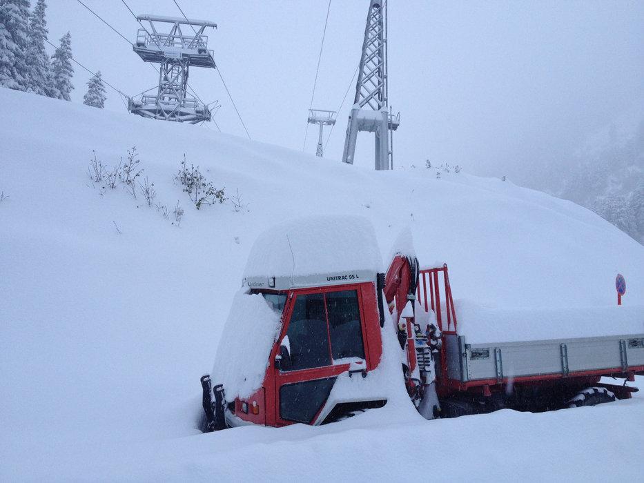70 cm di neve fresca hanno coperto il Ghiacciaio Stubai in Austria - © Stubaier Gletscher_Stefan Gietl