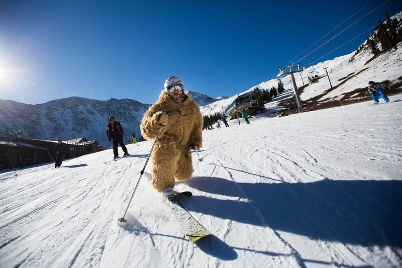 Beastly tele turns at A-Basin - ©Dave Camara/Arapahoe Basin Ski Area