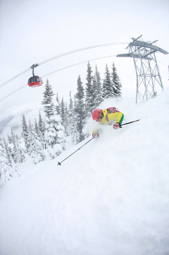 Peak2Peak Gondel in Whistler Blackcomb - © Bruce Rowles