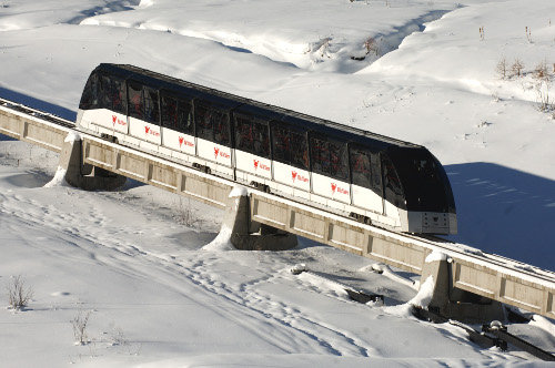 Best ski lifts: the underground Funival lift in Val d'Isère. - ©Andy Parant (andyparant.com)