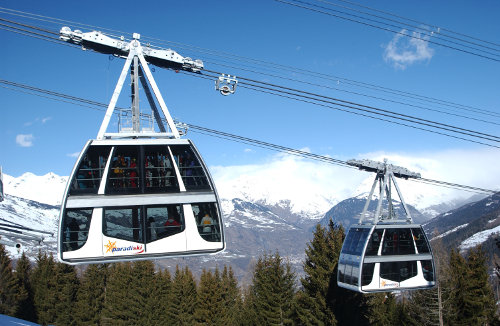 Best ski lifts: the Vanoise Express in Paradiski. - © Selalp