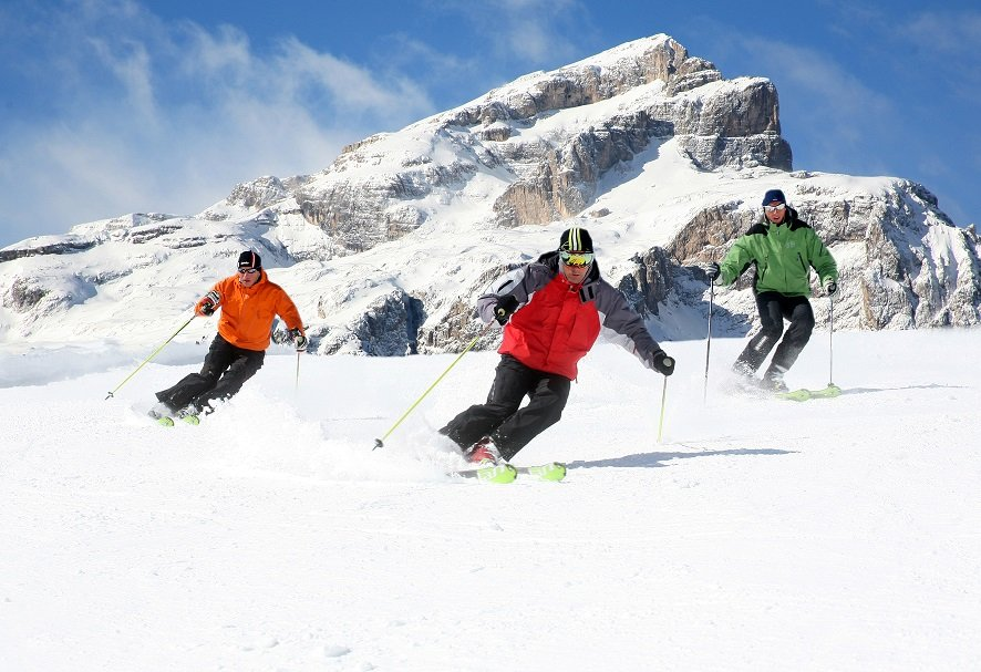 Best ski runs: Val Mesdi, Alta Badia - ©Alta Badia Tourist Office